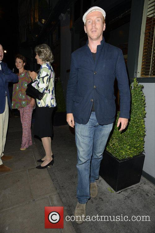 Damian Lewis Leaving Groucho Club