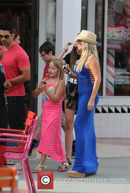 Tamra Barney with her husband Eddie Judge and...