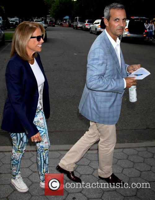 Katie Couric and John Molner 2