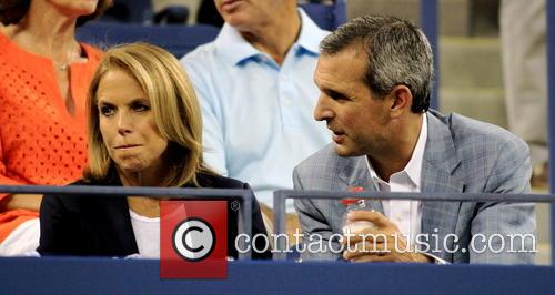 Katie Couric and John Molner 5
