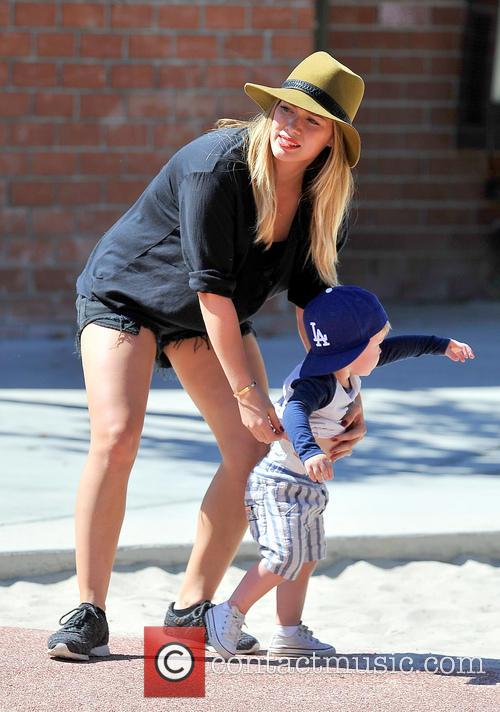 Hilary Duff and Luca Comrie 14