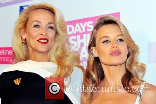 Jerry Hall and Georgia May Jagger 1