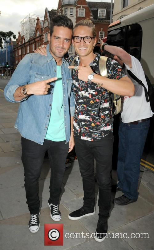 Spencer Mattews and Oliver Proudlock 2