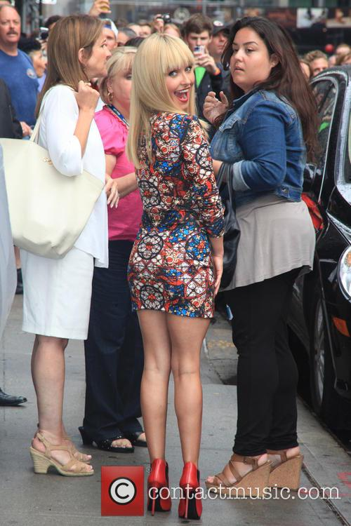 Hayden Panettiere, Ed Sullivan Theater, The Late Show