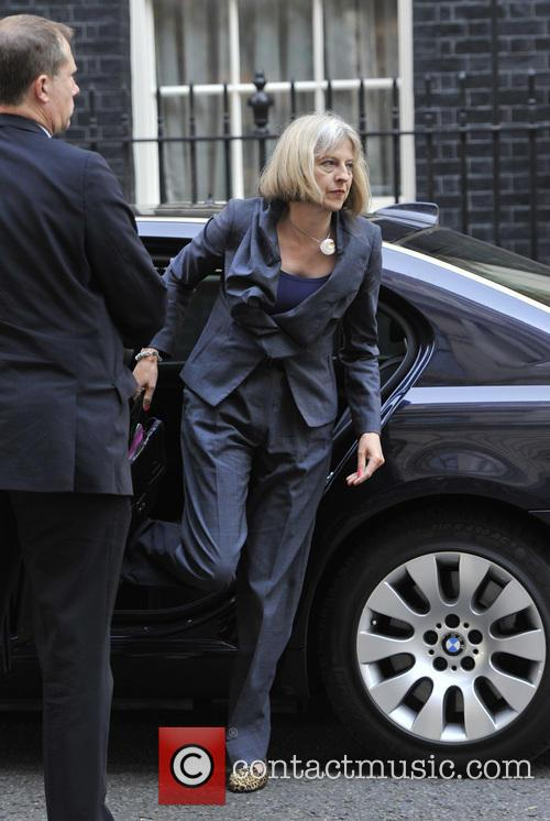 Home Secretary Theresa May 1