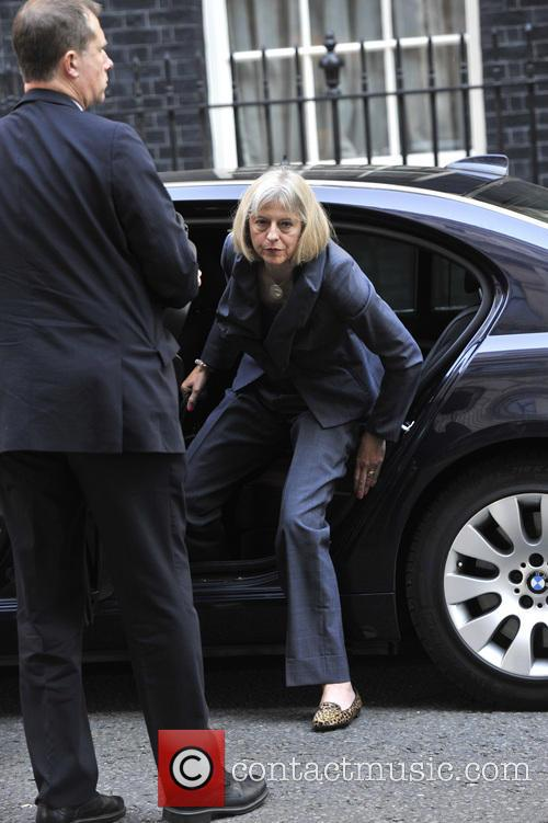 Home Secretary Theresa May 4