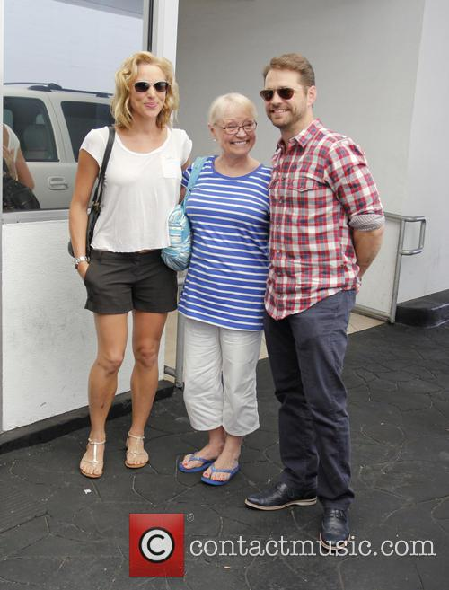 Jason Priestley, Naomi Priestley and Sharon Kirk 2