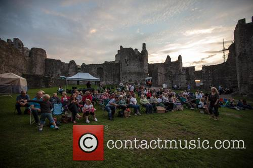 Rusty Shackle Perform At Chepstow Castle