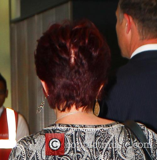 Sharon Osbourne bad hair day