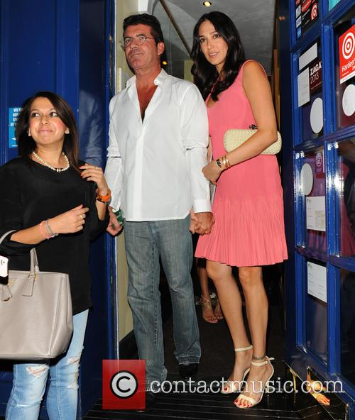 Simon Cowell and Lauren Silverman 11