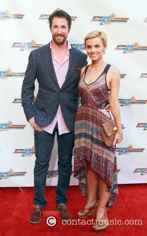 Noah Wyle and Sara Wells 1