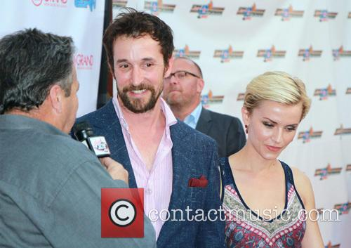 Noah Wyle and Sara Wells 3
