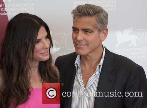 George Clooney and Sandra Bullock 2