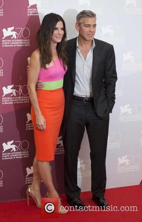Sandra Bullock George Clooney Venice