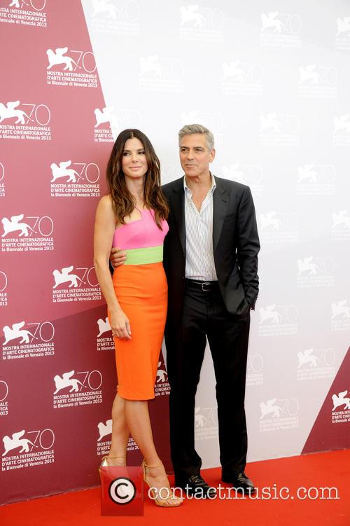 Sandra Bullock and George Clooney 4