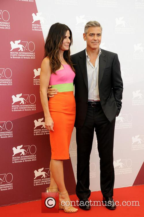 Sandra Bullock and George Clooney 5