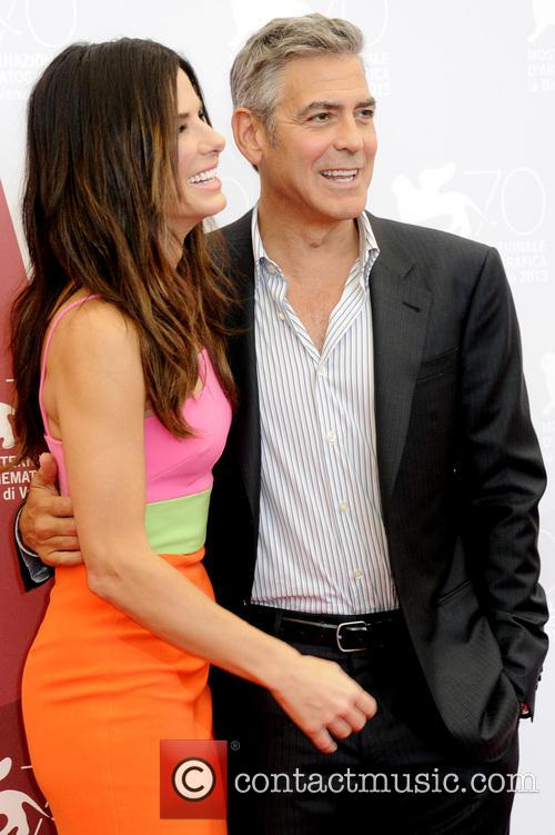 Sandra Bullock and George Clooney 6