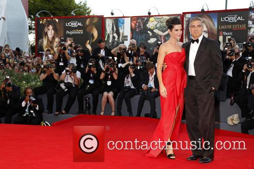 Sandra Bullock and George Clooney 7