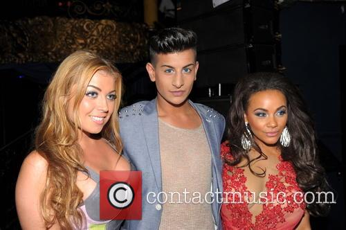 Chelsee Healy, Abigail Clarke and Junaid Ahmed 5
