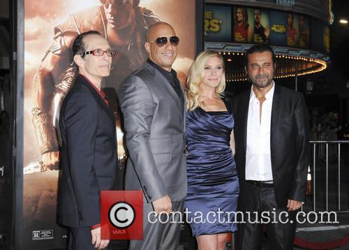 David Twohy, Vin Diesel, Katee Sackhoff and Jordi Molla 2