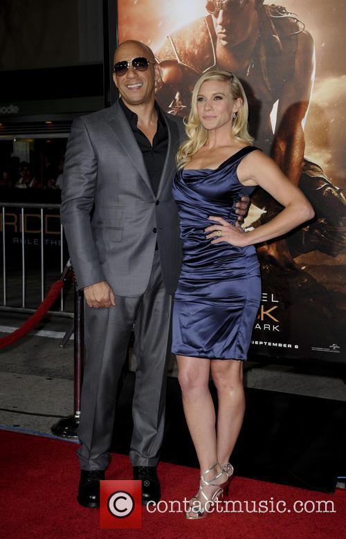 Vin Diesel and Katee Sackhoff 1