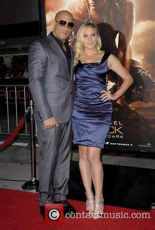 Vin Diesel and Katee Sackhoff 2