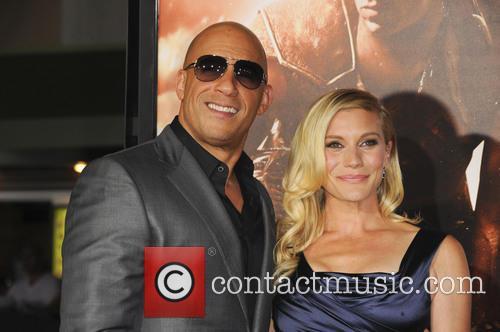 Vin Diesel and Katee Sackhoff 3