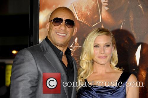Vin Diesel and Katee Sackhoff 5