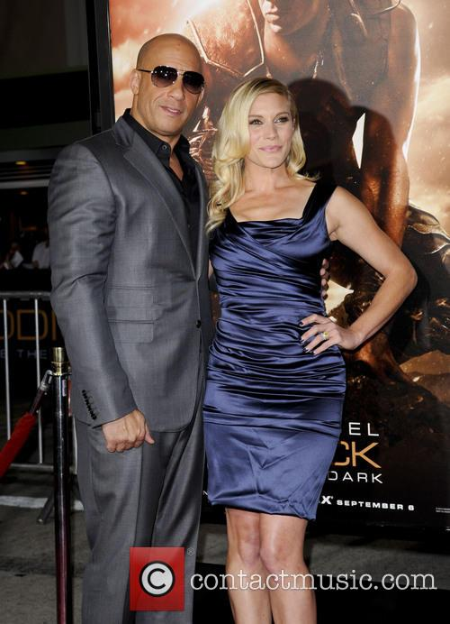 Vin Diesel and Katee Sackhoff 7