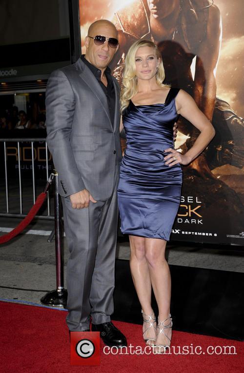Vin Diesel and Katee Sackhoff 8