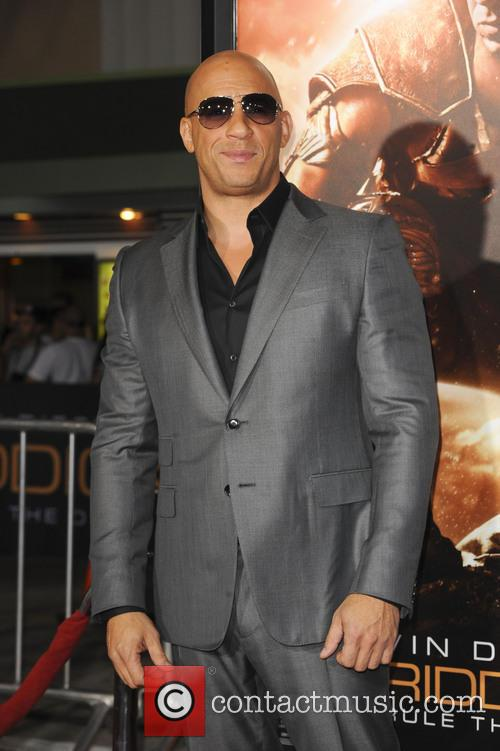 Diesel at the LA premiere of Riddick