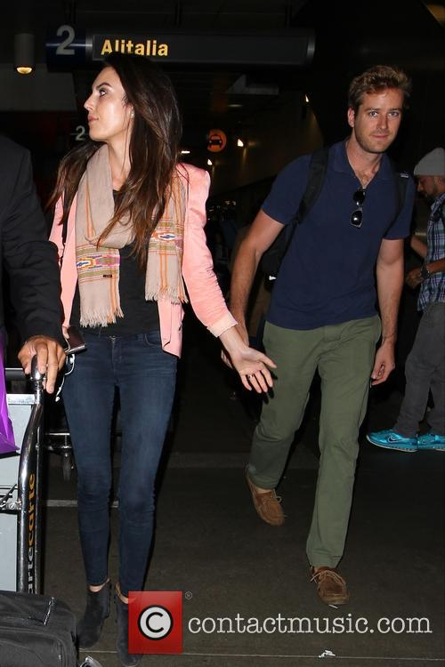 Armie Hammer and Elizabeth Chambers 10