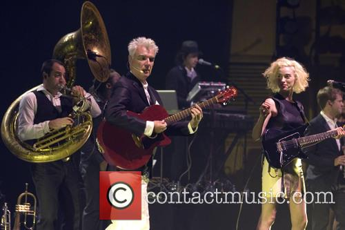 David Byrne, St Vincent and Annie Clark 2
