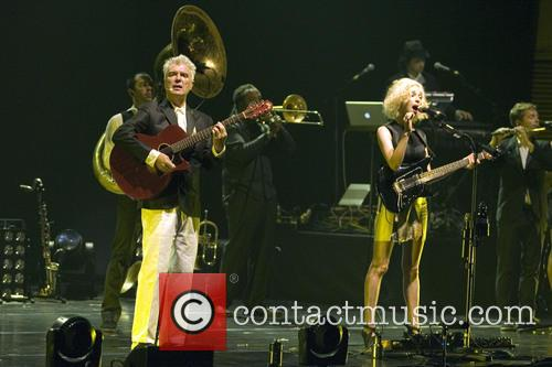 David Byrne, St Vincent and Annie Clark 1