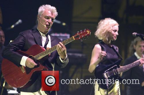 David Byrne, St Vincent and Annie Clark 4