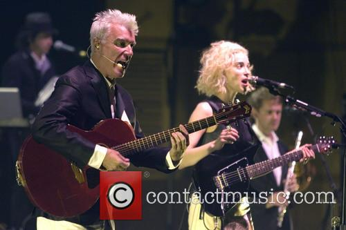 David Byrne, St Vincent and Annie Clark 6