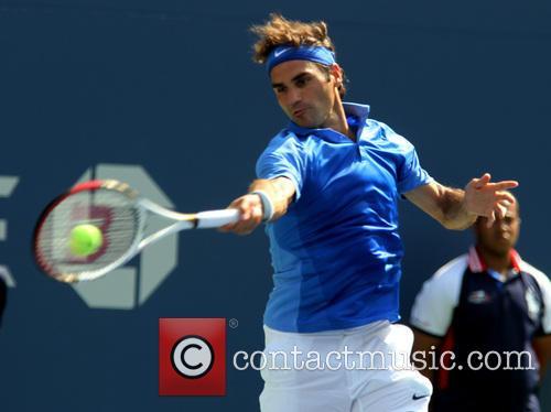 US Open - Roger Federer vs Carlos Berlocq...