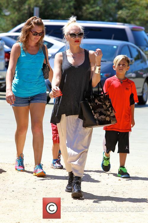 Gwen Stefani, Zuma Rossdale and Kingston Rossdale 2