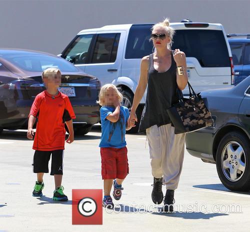 Gwen Stefani, Zuma Rossdale and Kingston Rossdale 9
