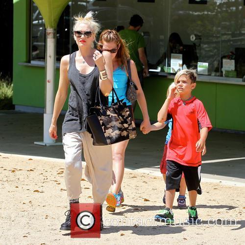 Gwen Stefani, Zuma Rossdale and Kingston Rossdale 12