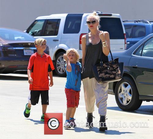 Gwen Stefani, Zuma Rossdale and Kingston Rossdale 14