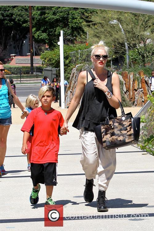 Gwen Stefani, Zuma Rossdale and Kingston Rossdale 17