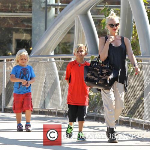 Gwen Stefani, Zuma Rossdale and Kingston Rossdale 22