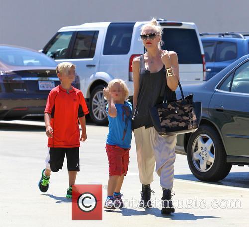 Gwen Stefani, Zuma Rossdale and Kingston Rossdale 28