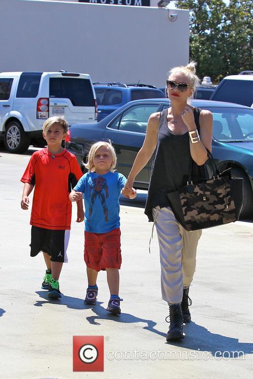 Gwen Stefani, Zuma Rossdale and Kingston Rossdale 29