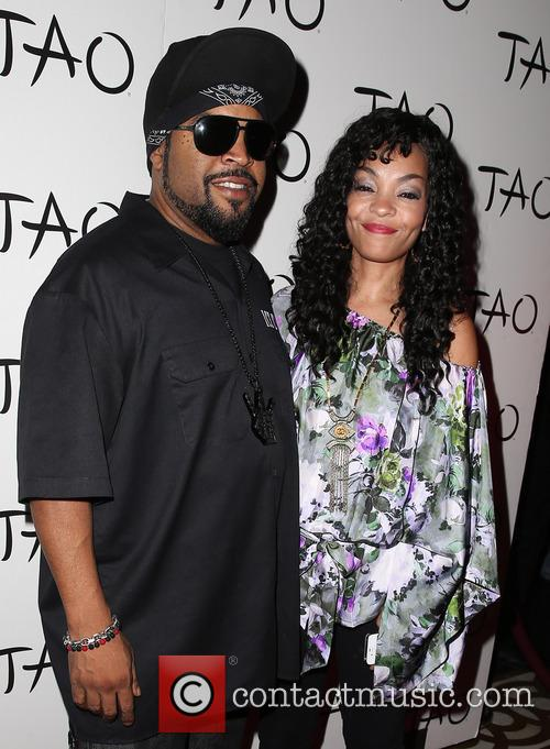 Ice Cube and Kimberly Woodruff 3