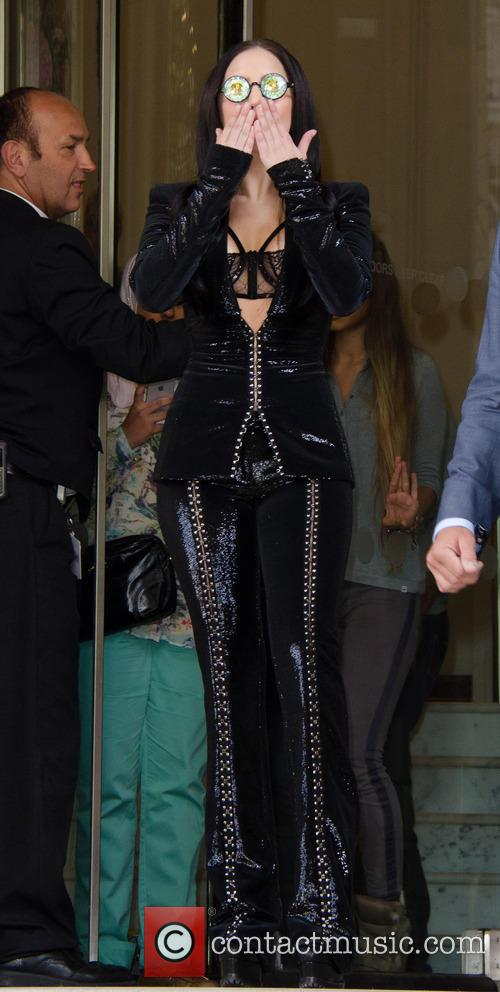 lady gaga lady gaga leaving her hotel 3841513