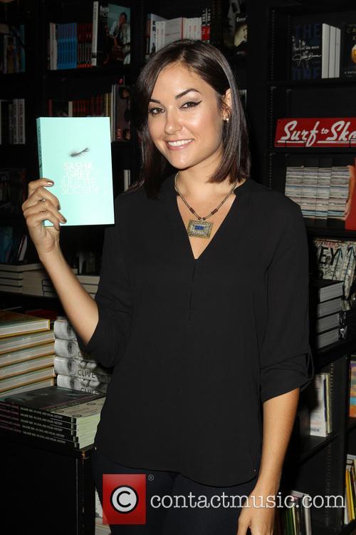 Sasha Grey book signing