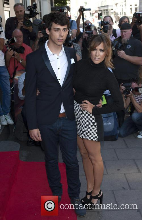 Caroline Flack and Matt Richardson 2