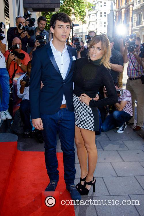 Matt Richardson and Caroline Flack 2